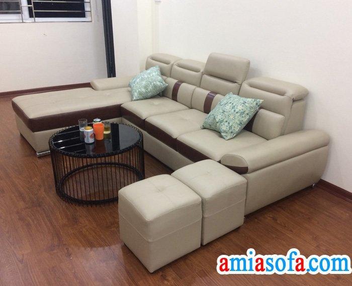 Hình ảnh bộ sofa đẹp giá rẻ bán tại kho sofa AmiA Hà Nội