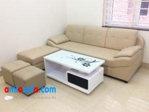 Hình ảnh mẫu ghế sofa văng nhỏ mini kê phòng khách đẹp