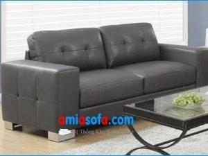 Mua ghế sofa văng da đẹp giá rẻ tại kho, tại xưởng ở Hà Nội