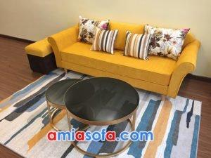 Ghế sofa nỉ văng đẹp hiện đại và trẻ trung