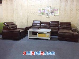 Bộ sofa góc cho phòng khách đẹp SFD 186