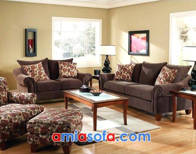 Sofa nỉ văng đẹp cho phòng khách
