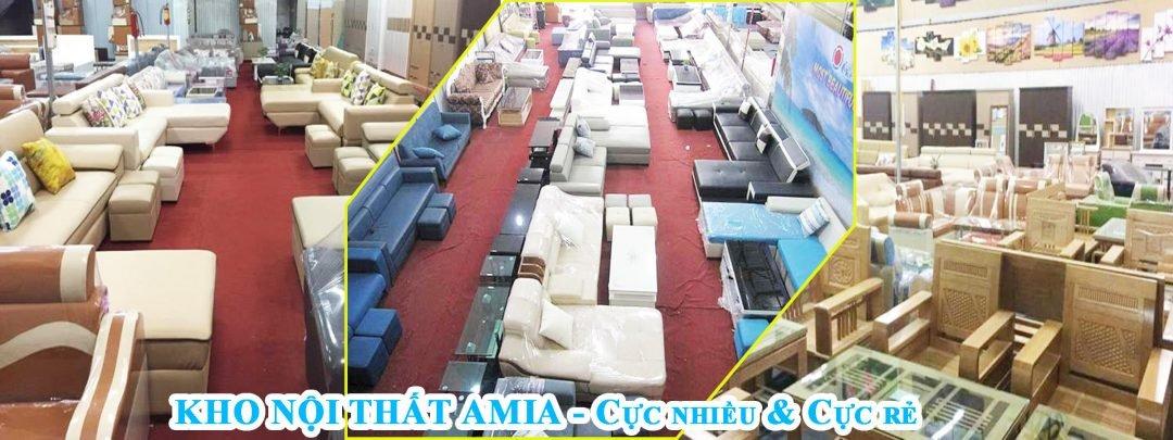 Kho nội thất giá rẻ AmiA Furniture