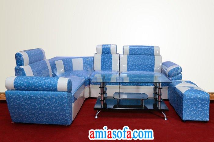 Hinh anh mau sofa da gia re duoi 3 trieu