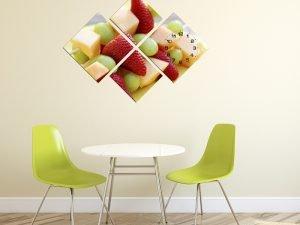 Tranh hoa quả treo phòng ăn đẹp