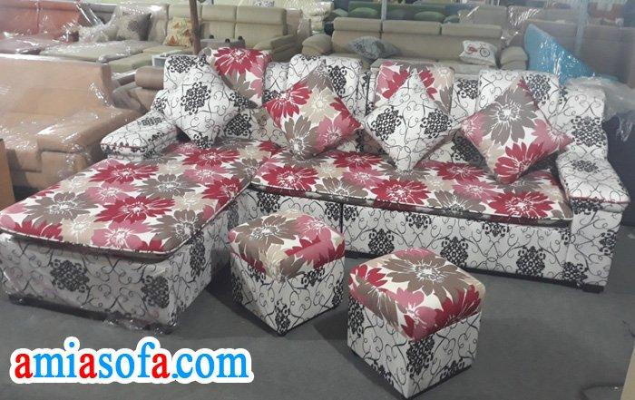 Hình ảnh bộ ghế sofa có mầu sắc sinh động