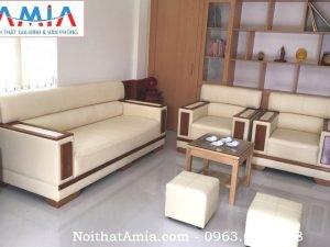 Mẫu Sofa đẹp kiểu tay vịn AmiA SFD085