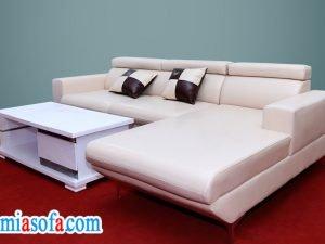 Hinh anh mau sofa mau trang dep tre trung tai AmiA
