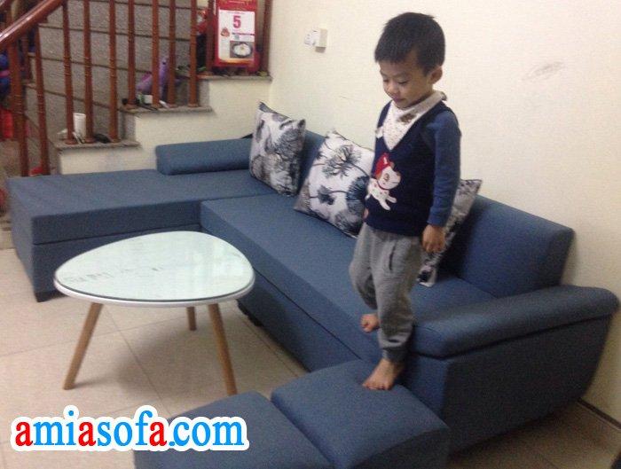 Kho sofa AmiA Hà Nội bán bộ ghế sofa nỉ đẹp giá rẻ