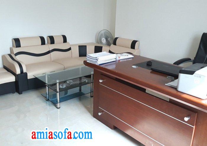 Hình ảnh bộ ghế sofa văn phòng giá rẻ chỉ dưới 3 trđ