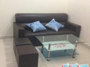 Hình ảnh mẫu sofa văng chụp tại nhà khách