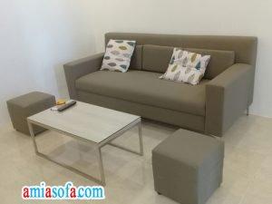 Mẫu ghế sofa văng đẹp mini kê phòng khách nhỏ, giá rẻ