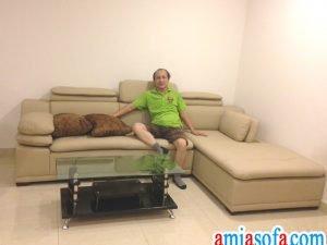 Hinh anh sofa phong khach dep gia re