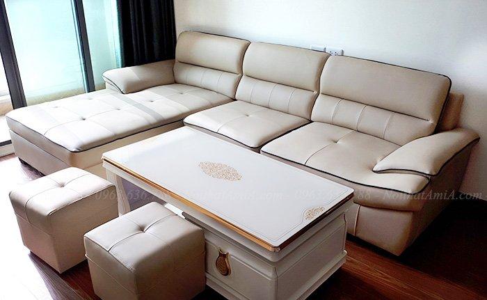 Bộ ghế sofa đẹp chữ L hiện đại và sang trọng