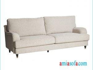 Mẫu ghế sofa văng đẹp hiện đại tại Hà Nội với kích thước nhỏ nhắn, xinh xắn
