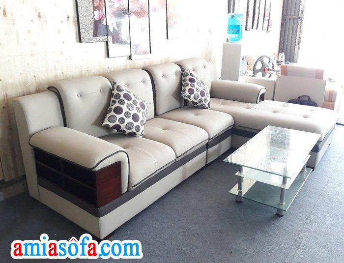 Bàn ghế sofa đẹp mẫu mới nhất tại AmiA Hà Nội