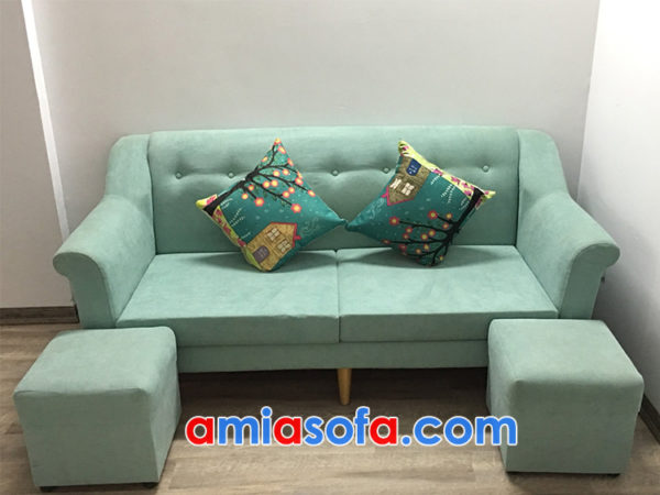 Ghế sofa nỉ văng đẹp và trẻ trung SFV 155