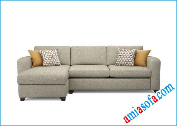 Hình ảnh mẫu sofa nỉ đẹp AmiA SFN 0307A