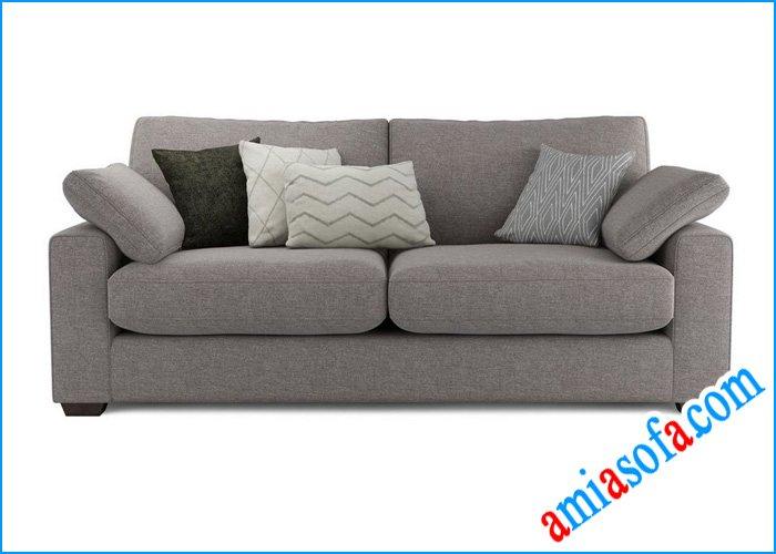 Mẫu ghế sofa văng nỉ SFV 0607B mầu ghi
