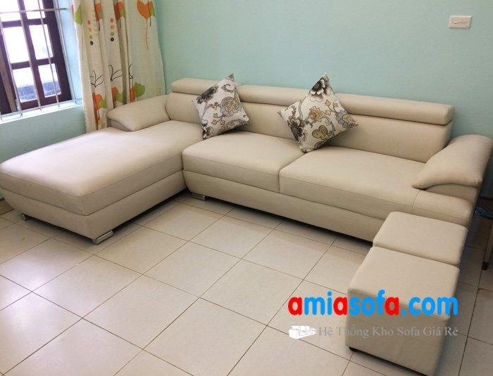 Hình ảnh ghế sofa da dạng góc đẹp giá rẻ