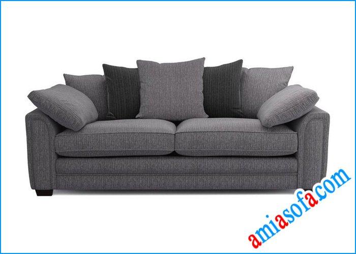 Hình ảnh mẫu sofa văng nỉ đẹp sang trọng SFN 1107A
