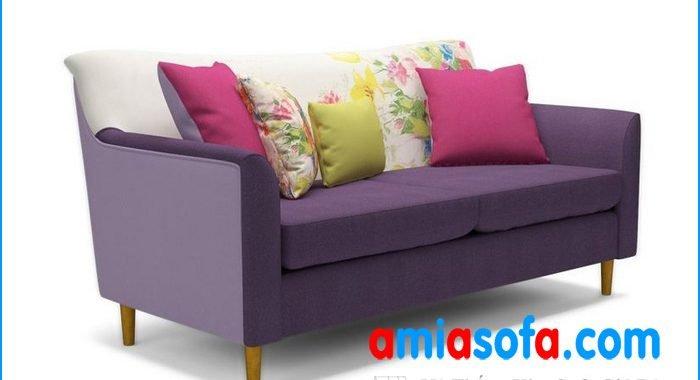 Mẫu sofa văng nỉ đẹp và trẻ trung