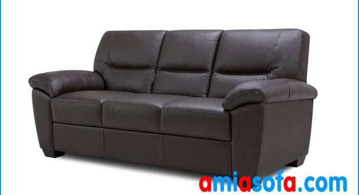 Mẫu ghế sofa văng da đẹp cỡ nhỏ AmiA SFD 1407D