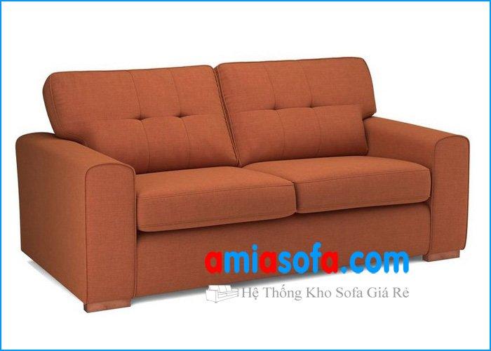 Hình ảnh mẫu sofa văng nhỏ 2 chỗ ngồi SFV 1707F