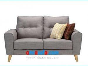 Mẫu ghế sofa văng nỉ đẹp cỡ nhỏ mini