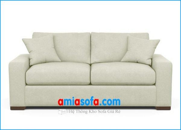 Bộ bàn ghế sofa văng đẹp giá rẻ chất liệu nỉ vải