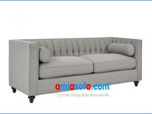 Hình ảnh bộ ghế sofa văng nỉ đẹp sang trọng