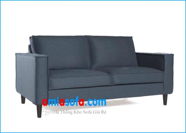 Hình ảnh ghế sofa văng chất nỉ đẹp mầu ghi