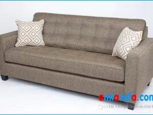 Hình ảnh mẫu ghế sofa văng nỉ nhỏ mini đẹp