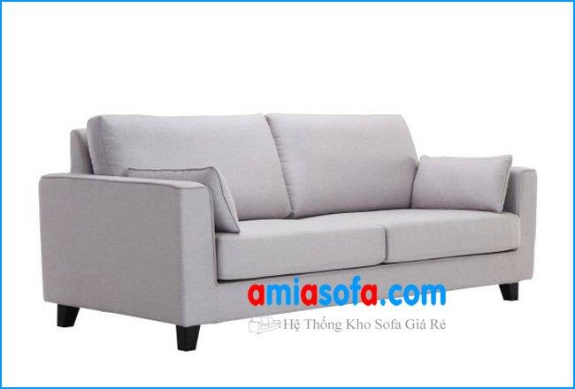 Hình ảnh bộ ghế sofa văng nỉ đẹp phong cách hiện đại