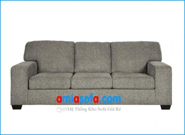 Hình ảnh ghế sofa dạng văng 3 chỗ ngồi đẹp kê phòng khách