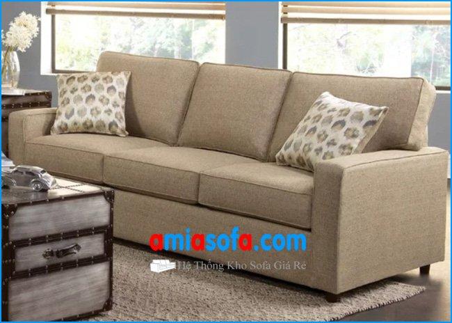 Mẫu ghế sofa văng nỉ đẹp sang trọng kê phòng khách gia đình