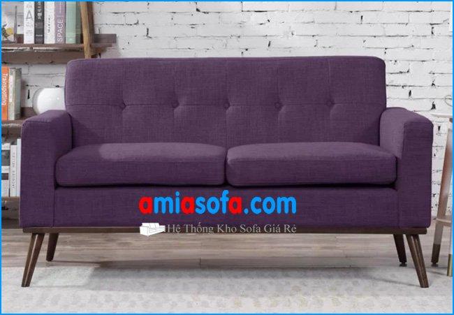 Mẫu sofa nhỏ mini dạng ghế văng đẹp kê phòng khách nhỏ