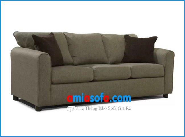 Hình ảnh mẫu sofa văng kê phòng khách chung cư nhỏ đẹp giá rẻ