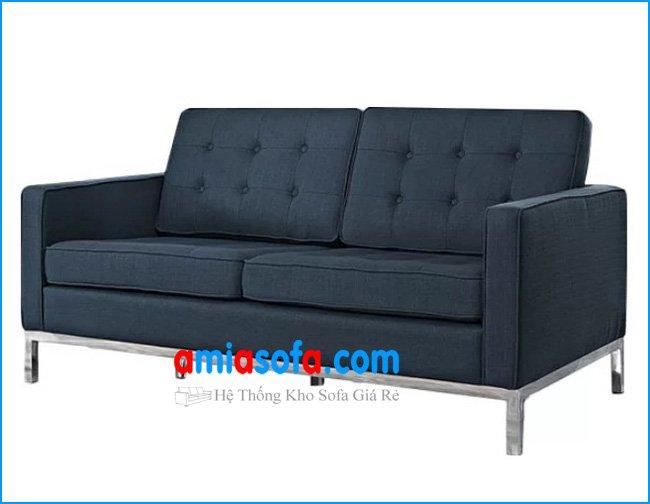 Mẫu thiết kế sofa văng hiện đại hợp kê phòng giám đốc, văn phòng công ty diện tích nhỏ