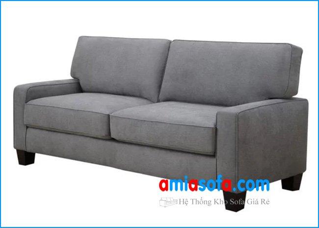 Hình ảnh mẫu sofa văng nỉ đẹp thiết kế trẻ trung