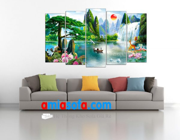 Hình ảnh mẫu tranh phong cảnh đẹp mã AmiA 1333.