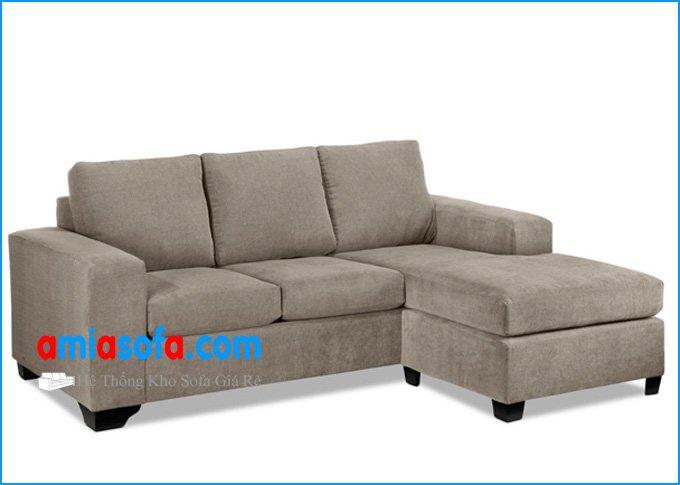 Mẫu ghế sofa góc có thiết kế hiện đại