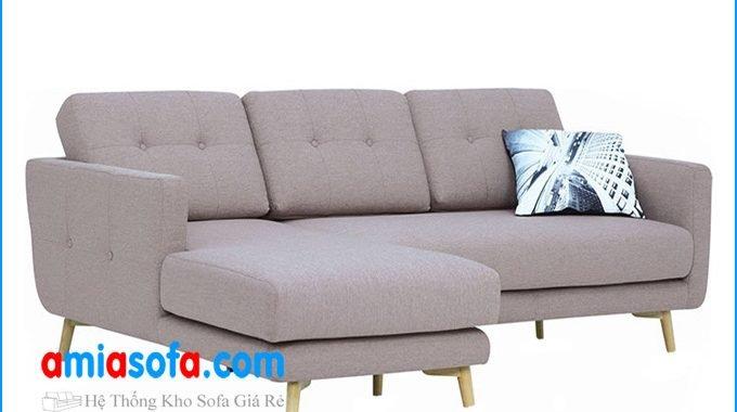 Rất nhiều mẫu ghế sofa góc đẹp, giá rẻ tại kho AmiA Hà Nội