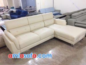 mẫu ghế sofa góc sang trọng cho phòng khách SFD 213