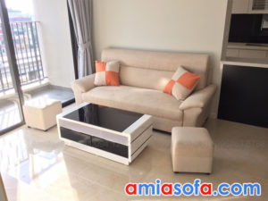Ghế sofa nỉ văng đẹp giá rẻ nhỏ gọn mini