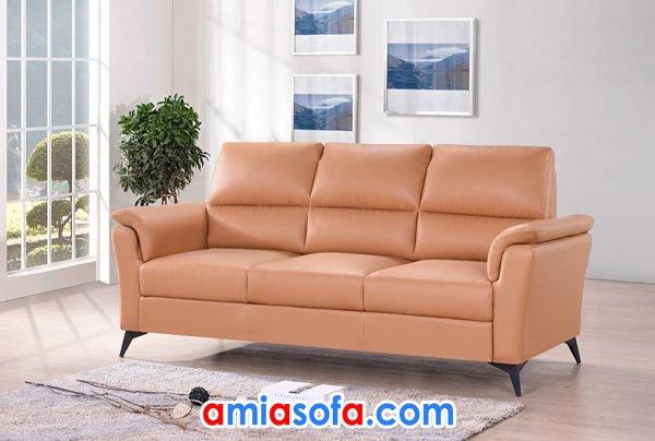 sofa da SFD 255 kiểu dáng thanh lịch