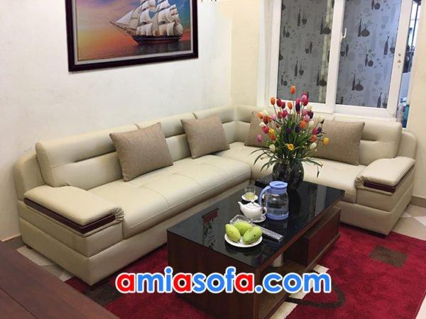 mẫu ghế sofa góc SFD 201 sang trọng