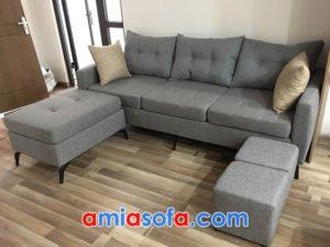 Ghế sofa nỉ văng đẹp giá rẻ