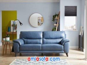 Mẫu ghế sofa văng da nhỏ gọn SFD 246
