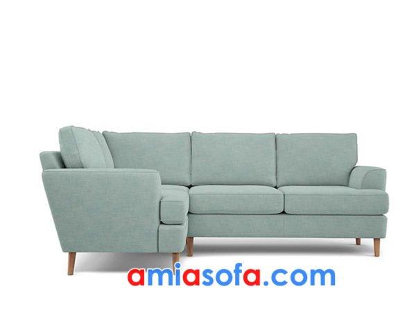 Ghế sofa góc chất nỉ đẹp AmiA SFN00619382